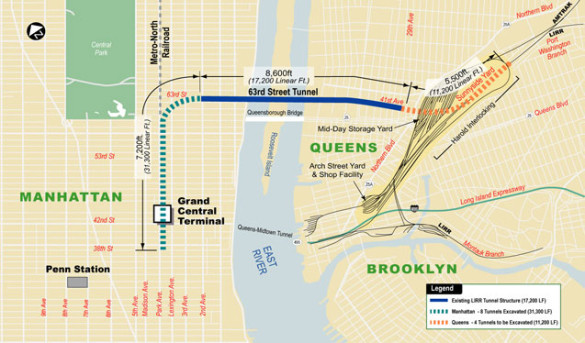 The MTA's East Side Access plan. Source: mta.info